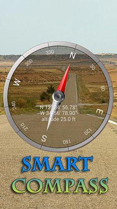 دانلود مستقیم نرم افزار کاربردی Smart compass v1.6.6 – اندروید